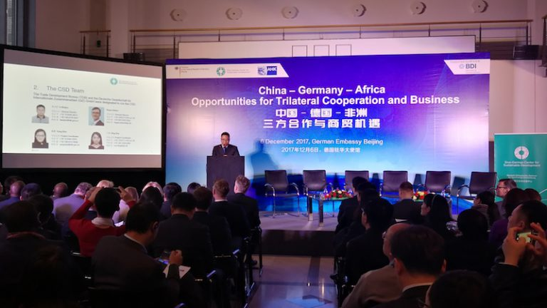 trilateral cooperation in africa germany and china There is also a huge potential for effective trilateral cooperation between germany, china and african countries on the proliferation of renewable energy in africa.